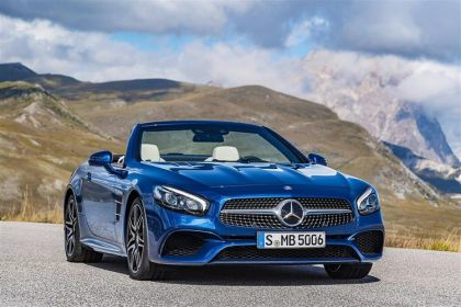 Mercedes-Benz SL Convertible SL400 Coupe Convertible 3.0 V6 367PS Grand Edition 2Dr G-Tronic+ [Start Stop]
