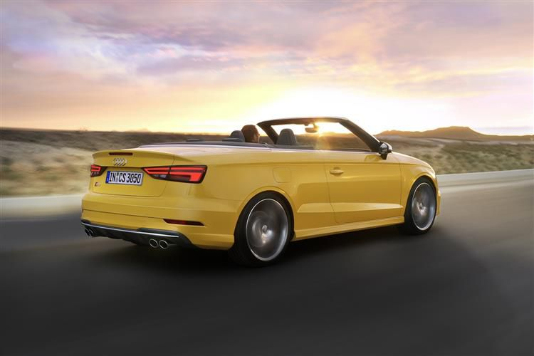 Audi A3 40 Cabriolet quattro 2Dr 2.0 TFSI 190PS S line 2Dr S Tronic [Start Stop] [Technology]